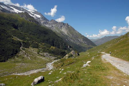View from lac de la Gliere path