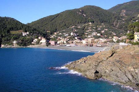 Village of Bonassola on the Ligurian Coast